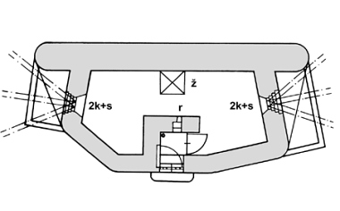 a plan of the pillbox