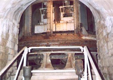 interior of the Mougin turret